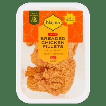 Spicy Breaded Chicken Fillets